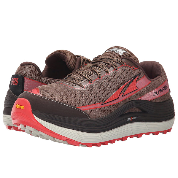 ALTRA Womens Olympus 2.0 Shiitake/Sugar Coral Running Shoes (A2655-4)