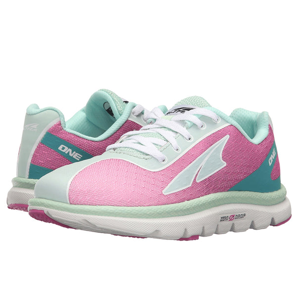 ALTRA A4623-4 Kids One Jr Fuschia/Mint Running Shoes