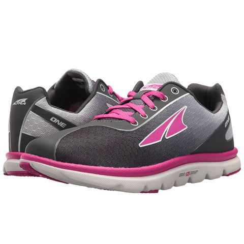 ALTRA Kids One Jr Raspberry Running Shoe A4623-5
