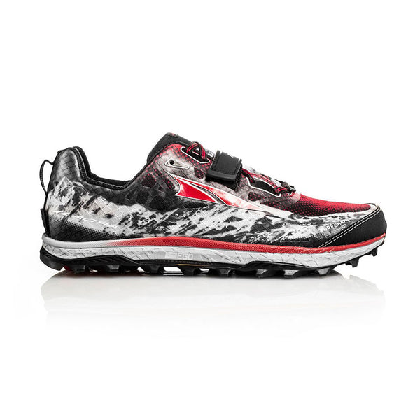 ALTRA Mens King MT Blk-Red Trail Running Shoes AFM1752G-1