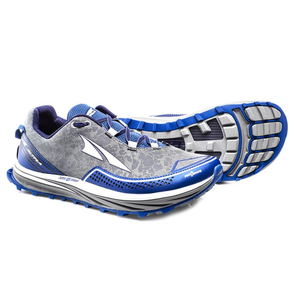 ALTRA Mens Blue Timp Trail Running Shoes AFM1757F-1