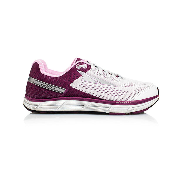 ALTRA Womens Intuition 4 Gray-Purple Running Shoes (AFW1735F-1)