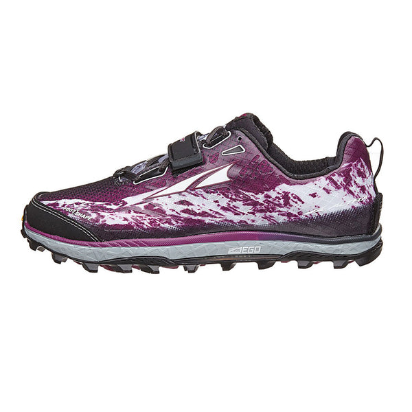ALTRA Womens King MT Gray-Magenta Trail Running Shoes (AFW1752G-1)
