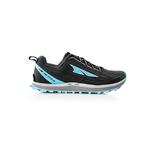 ALTRA Womens Superior 3 Charcoal-Blue Trail Running Shoes (AFW1753F-4)