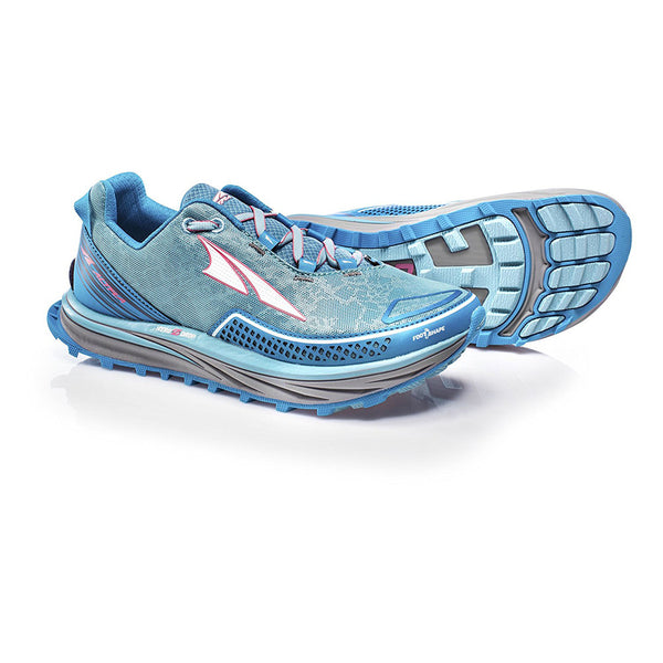 ALTRA Womens Blue Timp Trail Running Shoes AFW1757F-3