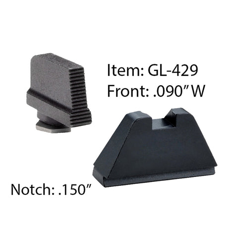 AMERIGLO Glock Suppressor Combination Set Sight GL-429