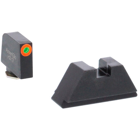 AMERIGLO Green Tritium Suppressor Sight Set GL-511