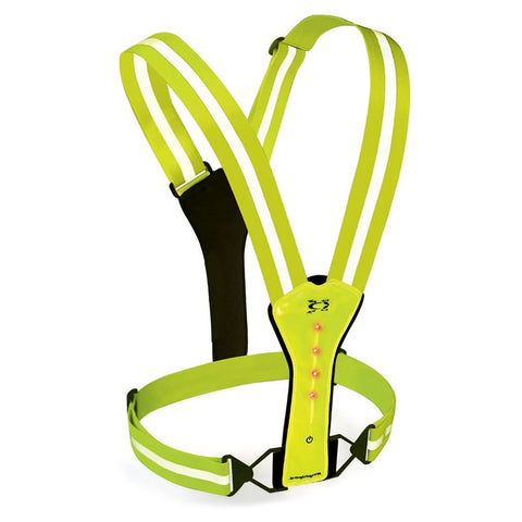 AMPHIPOD Xinglet Flash LED Green Reflective Vest 446