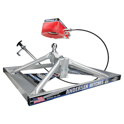 ANDERSEN Lowered Aluminum Ultimate 5th Wheel Connection 2 Gooseneck Version (3221)