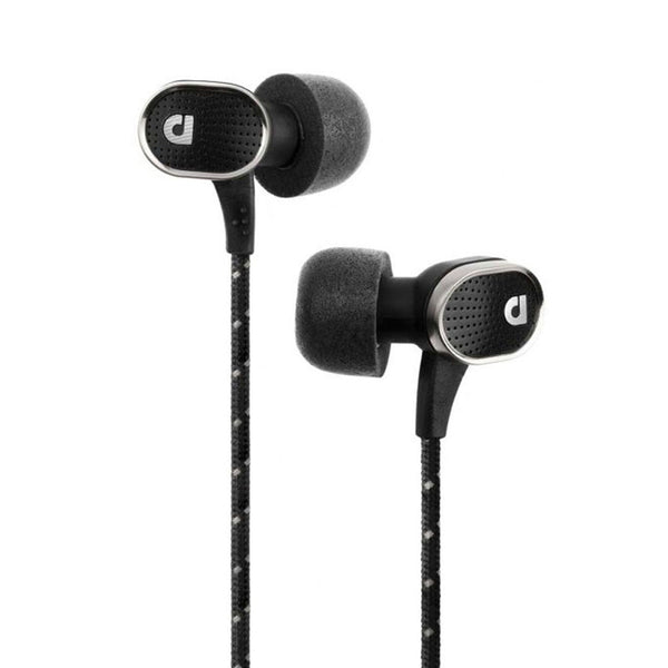 AUDIOFLY AF78 Marque Black In-Ear Headphone with Clear-Talk Mic (AF781-1-01)