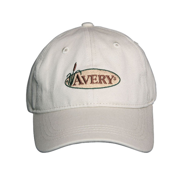avery khaki cotton twill cap 44202
