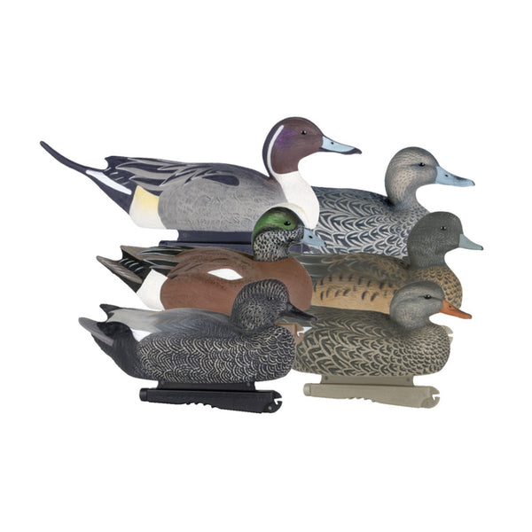 AVERY 6 Pack of Life-Size Puddler Duck Decoys (73046)