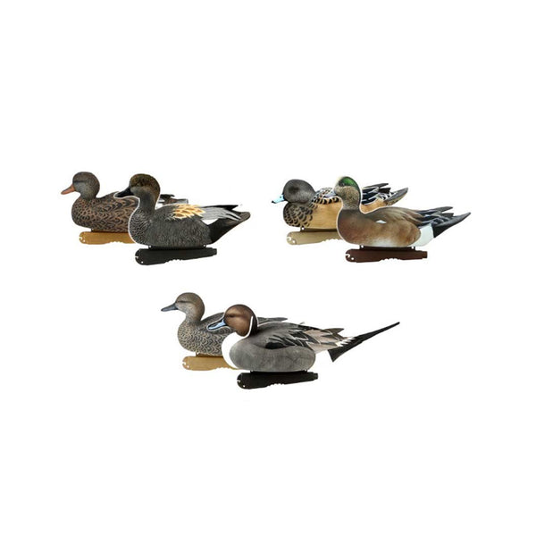 AVERY 6 Pack of Pro-Grade Puddler Decoys (73190)