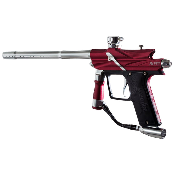 AZODIN Blitz 3 Red-Silver Paintball Marker (BLG3002)