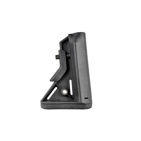 B5 SYSTEMS Bravo Black Mil-Spec Stock with Quick Detach Mount (BRV-201-01)