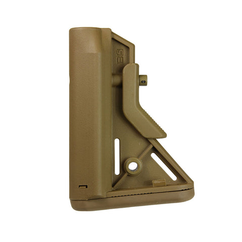 B5 SYSTEMS Bravo Coyote Brown Mil-Spec Stock with Quick Detach Mount (BRV-203-01)