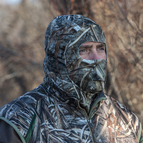 BANDED Deluxe UFS Realtree Max-5 Fleece Face Mask 3458