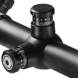 BARSKA Sniper GX2 4-16x50 Rifle Scope, Illum. Mil Dot Reticle, 30mm, w/ Rings (AC11670)