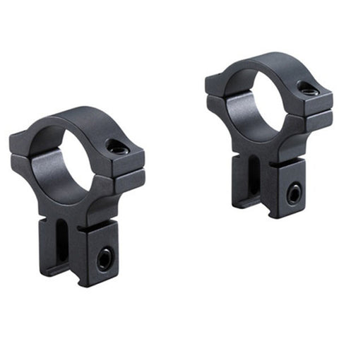 BKL 1in. Dia x 6in. Long Dovetail Rings-High, Black (BKL-257H-MB)