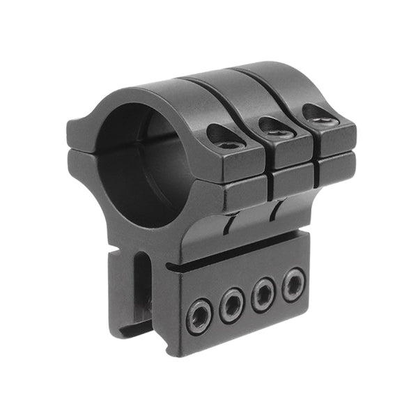 BKL Triple Strap 30mm Medium Dovetail Single Scope Ring (BKL-S-308)