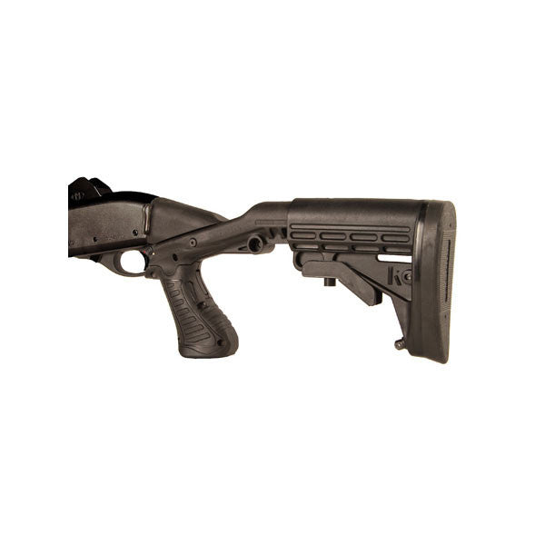 BLACKHAWK Knoxx Gen 2 Stock, Moss 12g Pump Varities, Black (K30200-C)
