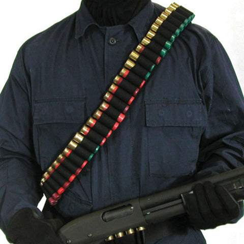 BLACKHAWK Shotgun Bandoleer, Holds 55 Shells, Black (43SB55BK)