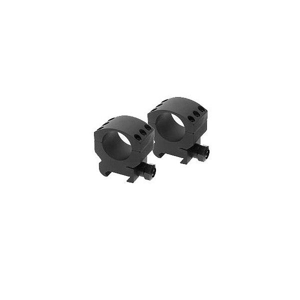 BURRIS Xtreme Tactical Rings, 1 in., Picatinny, Medium 1/2 in. Height, Two Rings, Black (420181)