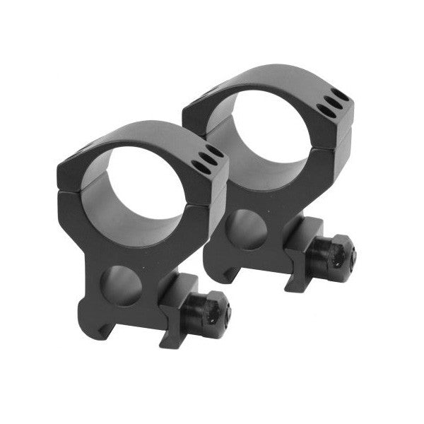 BURRIS Xtreme Tactical Rings, 1 in., Picatinny, X-High 1 in. Height, Two Rings, Matte Black (420183)