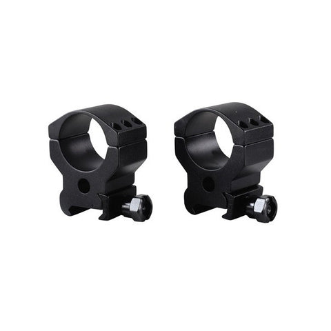BURRIS Xtreme Tactical Rings, 30mm, Picatinny, High 3/4 in. Height, Two Rings, Matte Black (420164)