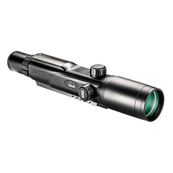 BUSHNELL Yardage Pro 4-12x42 Mil-Dot Reticle Laser Rangefinding Riflescope (204124)
