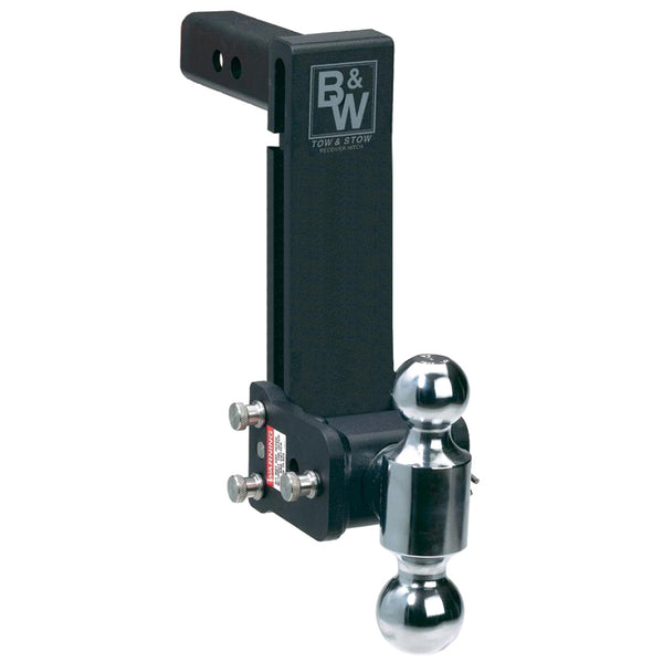 BW Tow Stow Model 12 Dual Ball Hitch TS10043B