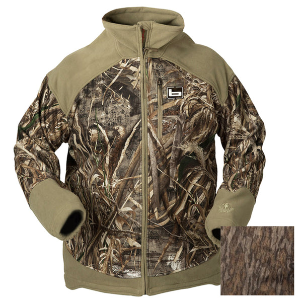 Banded UFS Fleece Mossy Oak Bottomland Jacket 2260-PAR