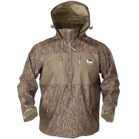 BANDED Waterproof 1/4 Zip Bottomland Hooded Pullover (B00486-PAR)