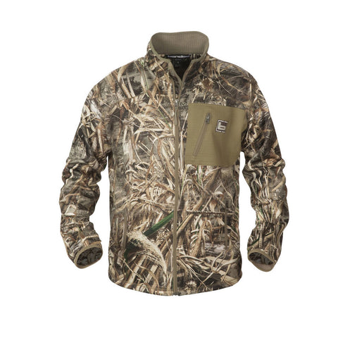 BANDED Mid Layer Full Zip Realtree Max-5 Fleece Jacket (B1010008-M5)