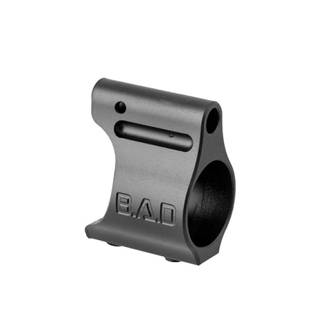 BATTLE ARMS DEVELOPMENT Lightweight Titanium .625in Black Gas Block (100-800-002)