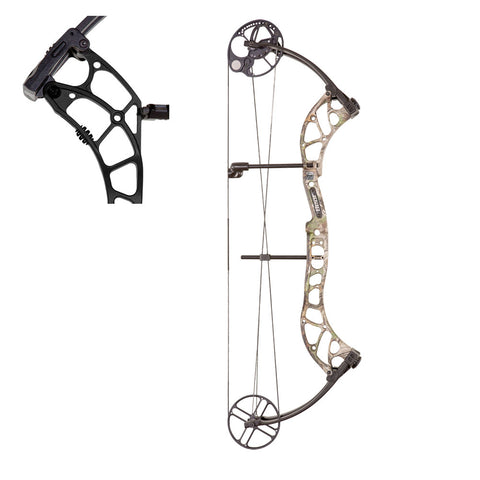 BEAR ARCHERY Wild 60-70lb Draw Right Hand Shadow Compound Bow (A6WD11107R)