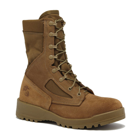 BELLEVILLE USMC Hot Weather Mojave/Olive Green Coyote Combat Boot (590)