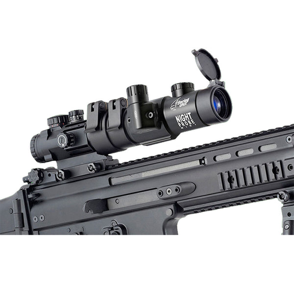 BERING OPTICS Night Probe Mini Gen3 Black Night Vision Attachment with Tactical Side Mount (BE36143)