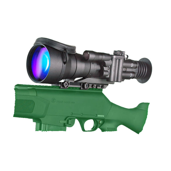 BERING OPTICS D-760 6.0x83 Gen2+ High Performance Black Night Vision Sight (BE72760SG)