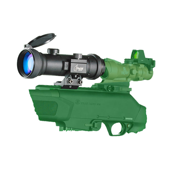 BERING OPTICS D-950U B&W Gen3+ Elite Black Night Vision Clip-On Attachment (BE73950HDUW)
