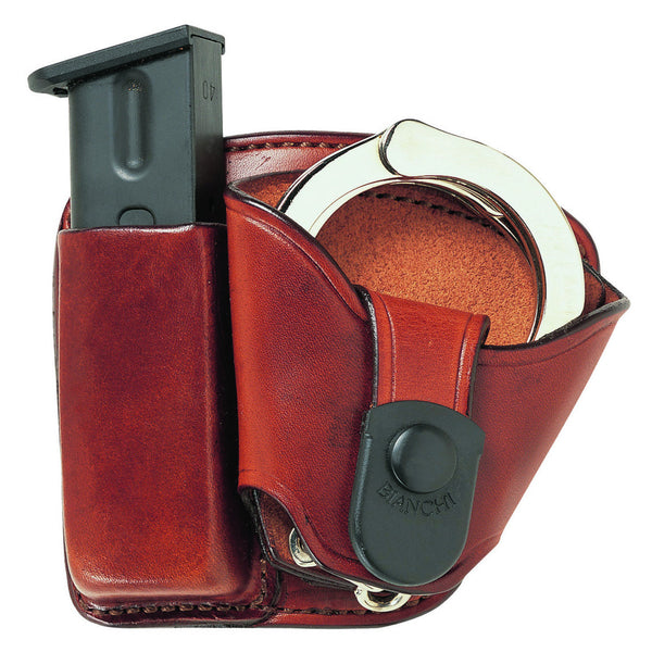 Bianchi 45 Tan Mag Cuff Paddle Holster 19857