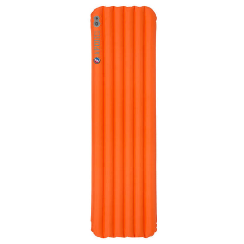 BIG AGNES Insulated Air Core Ultra 25x72 Wide Regular Orange Sleeping Pad (PIACUWR17)