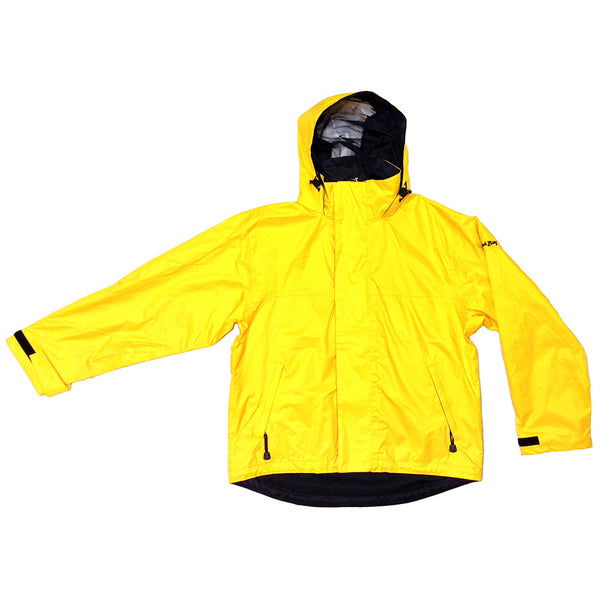 BIMINI BAY OUTFITTERS 51617-Y Boca Grande Yellow Waterproof Jacket