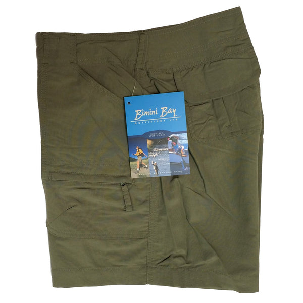 BIMINI BAY OUTFITTERS W31603-SA Women's Challenger Sage Short
