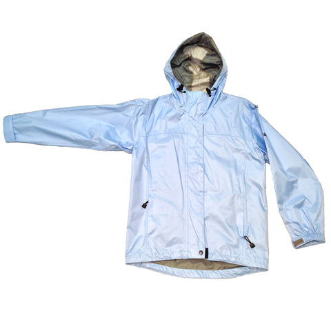 BIMINI BAY OUTFITTERS W51617-LTB Women's Boca Grande Light Blue Waterproof Jacket