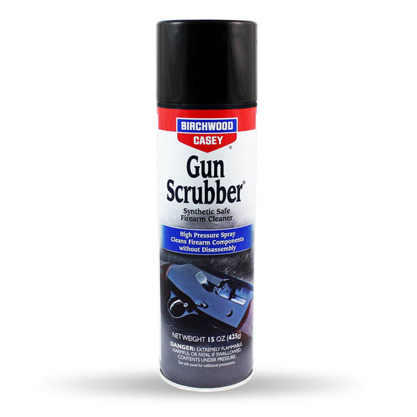 BIRCHWOOD CASEY Gun Scrubber 15oz Aerosol Firearm Cleaner (33348-SINGLE)