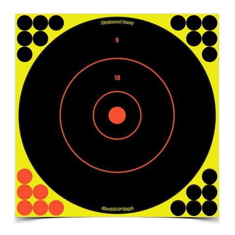 BIRCHWOOD CASEY Shoot-N-C 12in 12-Pack Bull's-Eye Target (34022)