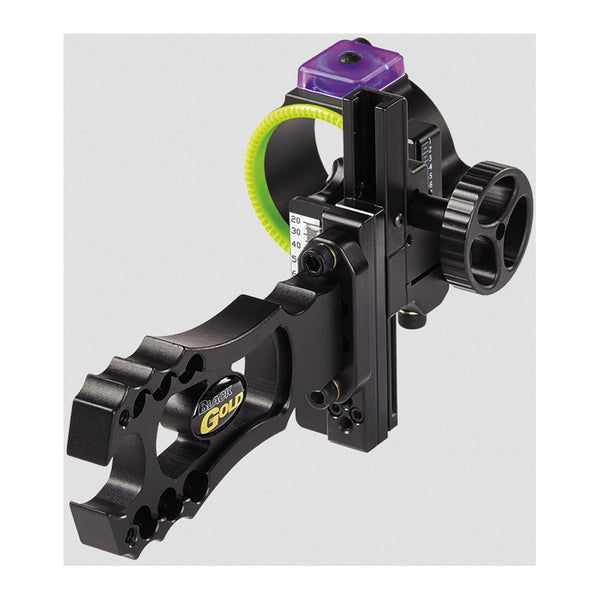 BLACK GOLD Ascent Ambush 1.75in Right Hand Single Pin Bow sight (AA1-RH)