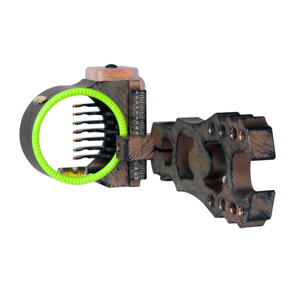 BLACK GOLD Rush Big Dog 2in Left Hand 7 Pin Bow sight (FPRUXC7-LH)