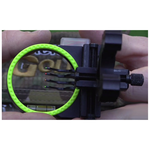 BLACK GOLD Widow Maker 2in Left Hand 4 Pin Bow sight (WMX4-LH)